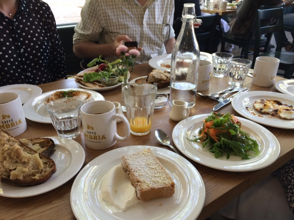 london plane brunch