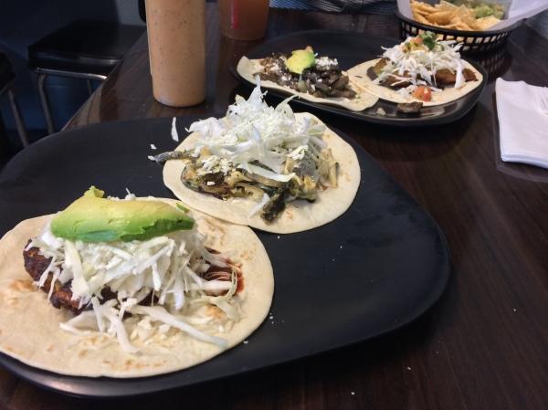 Papalote tacos!
