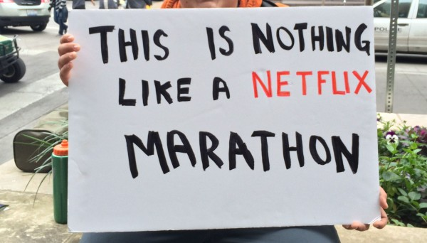 My kind of marathon