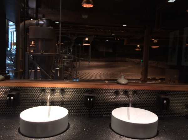 roastery restroom